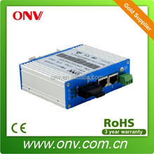 Single Mode Fast Industrial Media Converter for 10/100Base-TX to 100Base-FX