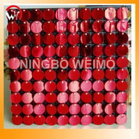 Indoor/Outdoor Mark Building Sequin wall Panel Wholesale Christmas Decorations made in China