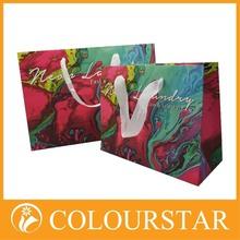 Nice-looking trendy paper shopping bag