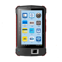 7 inch rugged android device UHF rfid cheap rugged tablet pc with wifi gps bluetooth