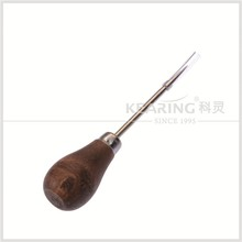 KEARING SEWING CUCURBIT HANDLE AWL,PATTERNMAKING HANDLE AWL,Scratch Awl Leather Leather #HA6535