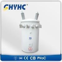 Single phase Oil Type D9-M-5/11-0.242 Aluminum Winding 5KVA small power transformer $448/set