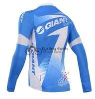 Зимняя одежда с длинным рукавом, Велоспорт-Джерси + нагрудник штаны велосипедов тепловой обобрал износ set + гель велосипеды гигантские #2