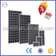 Hot selling high efficiency 12v 25w solar panel with CE and ISO