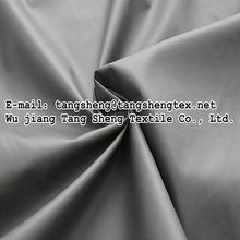 100 polyester taslon fabrics made from recycled materials for Winter clothes