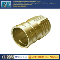 Customized high precision various size of brass fittings