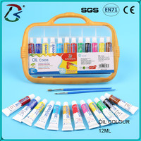 China art supplies high quality diy oil paint by number kit for woman portrait canvas oil painting