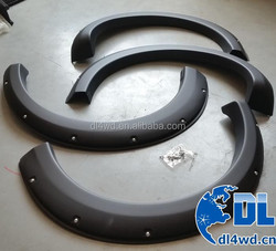 Offroad wheel arch flare ABS 4wd mitsubishi triton fender flare for mitsubishi L200 fender flare