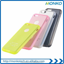 New Colorful QI Standard Wireless Charger Charging Receiver Case for iPhone 6