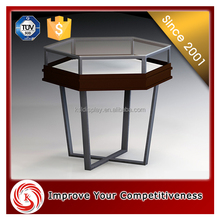 2015 newest design jewelry round wood display table