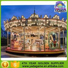 China Manufacturer Theme Park Carousel Children Musical Amusement Ride