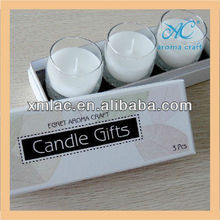 customized mini flameless candles walmart with different fragrances in good quality