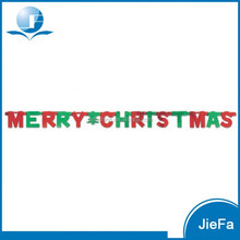 Letter Banner For Christmas Party Hanging Decoration Christmas Banner