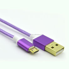 High Quality Micro V8 Date USB Charging Cable for Samsung
