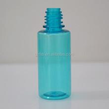 Alibaba China Wholesale 15ml PET Plastic Water Bottles Blue