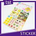 Popular impresso Sticker educacional para crianças