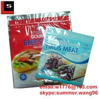 food grade ziplock beef jerky packaging bag