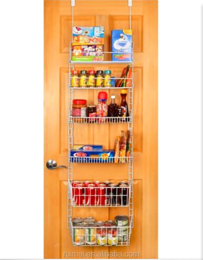 cabinet spice shelf can food storage door pantry organizer