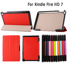 """Leather Case Cover Stand Skin for Amazon Kindle Fire HD 7"""""""