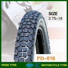china manufacture motorcycle tire 2.75-21 2.75-19