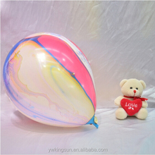 Hot sale colorful clouds latex balloons 12 inch with excellent design for wedding party decoration as new products of 2015
