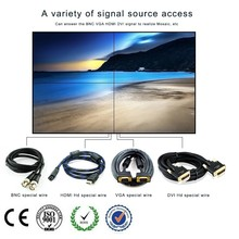 42 inch indoor 2x2 led display screen , background lcd video wall p10 led display