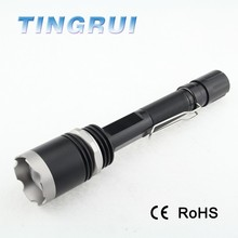 High quality water resistant Aluminum 6000 lumens flashlight with Long run time