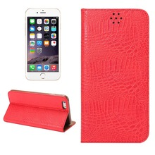 Crocodile flip leather phone case for iphone 6s 4.7'' mobile phone case