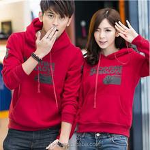 Round Neck Design Printing Factory Selling Couple fleece hoody lahore