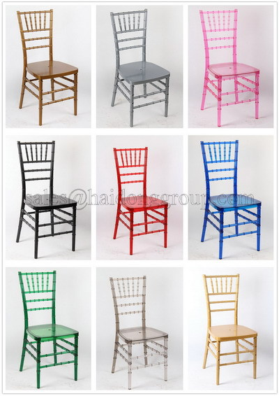 Resin Chiavari Chair in Clear