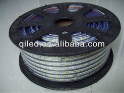decorative waterproof 5050 Flexible 220V 50meter/roll LED Strip light for outdoor decoration