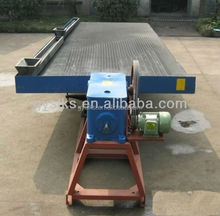 good quality ore dressing equipment gravity minerals separation chrome table