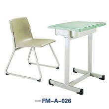 FM-A-026 plastic chair table school