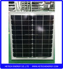 Monocrystalline 25w pv modules price from china manufacturer