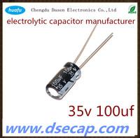 wholesale Aluminium Electrolytic Capacitor 35v 100uf