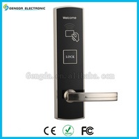 High security hotel electronic door lock with RFID card