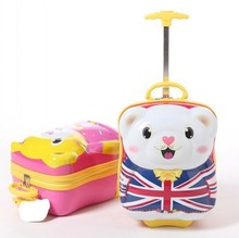 Cute Cartoon Design Children Hard Luggage , Can be Customized