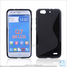 New s line tpu soft Gel skin cover For ZTE Blade S6 Lux Q7