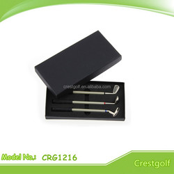 Golf Club Pen Set in gift box