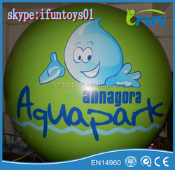 giant inflatable floated PVC spheres for advertising / inflatable giant floats sphere promoted / inflatable advertising spheres