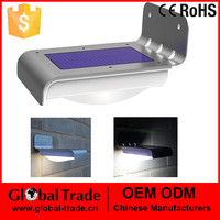 16 LED Solar Power Motion Sensor Garden Security Lamp Outdoor Waterproof Light H0014