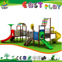 2015 lastest style outdoor plastic houses for kids