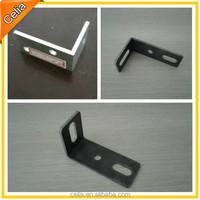 table corner bracket in metal or alloy material