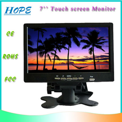 China Low Cost 7 inch Touch Screen Monitor for PC/touch screen monitor for honda civic