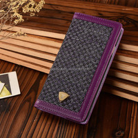 Unique Flip Case PU & Cloth Phone Case, For iphone 6 Wallet Case , Flip Leather Case For iphone 6 4.7 inch Retro Flip Case