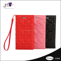 new design funni leather wallet case for iphone