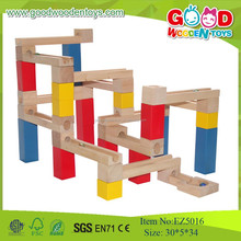 New Design Top Quality Kids Wooden Set ,Marble Run Play Kids Toys