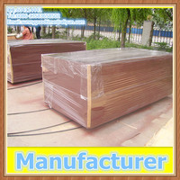 18mm waterproof concrete construction dynea brown film faced plywood