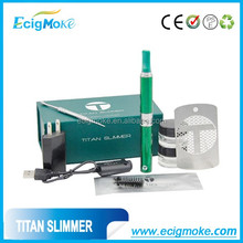 New Arrival Dry Herb Titan Slimmer Dry Herb Vaporizer Packing wax wholesale Titan Slimmer malaysia e cigs dry herb vaporizer