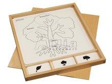 Montessori Actividad de rompecabezas Set